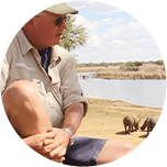 Rich travels to Zimbabwe to visit the Rhino's we've helped to conserve.