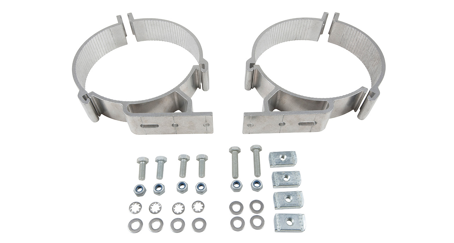 150mm Conduit Clamps (x2)