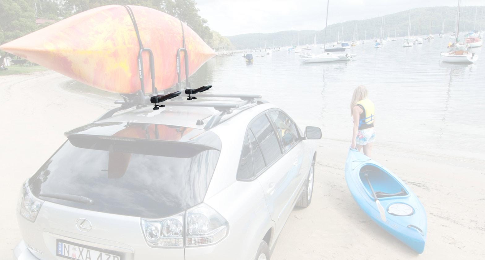 Extension pour porte-kayak pliable en J