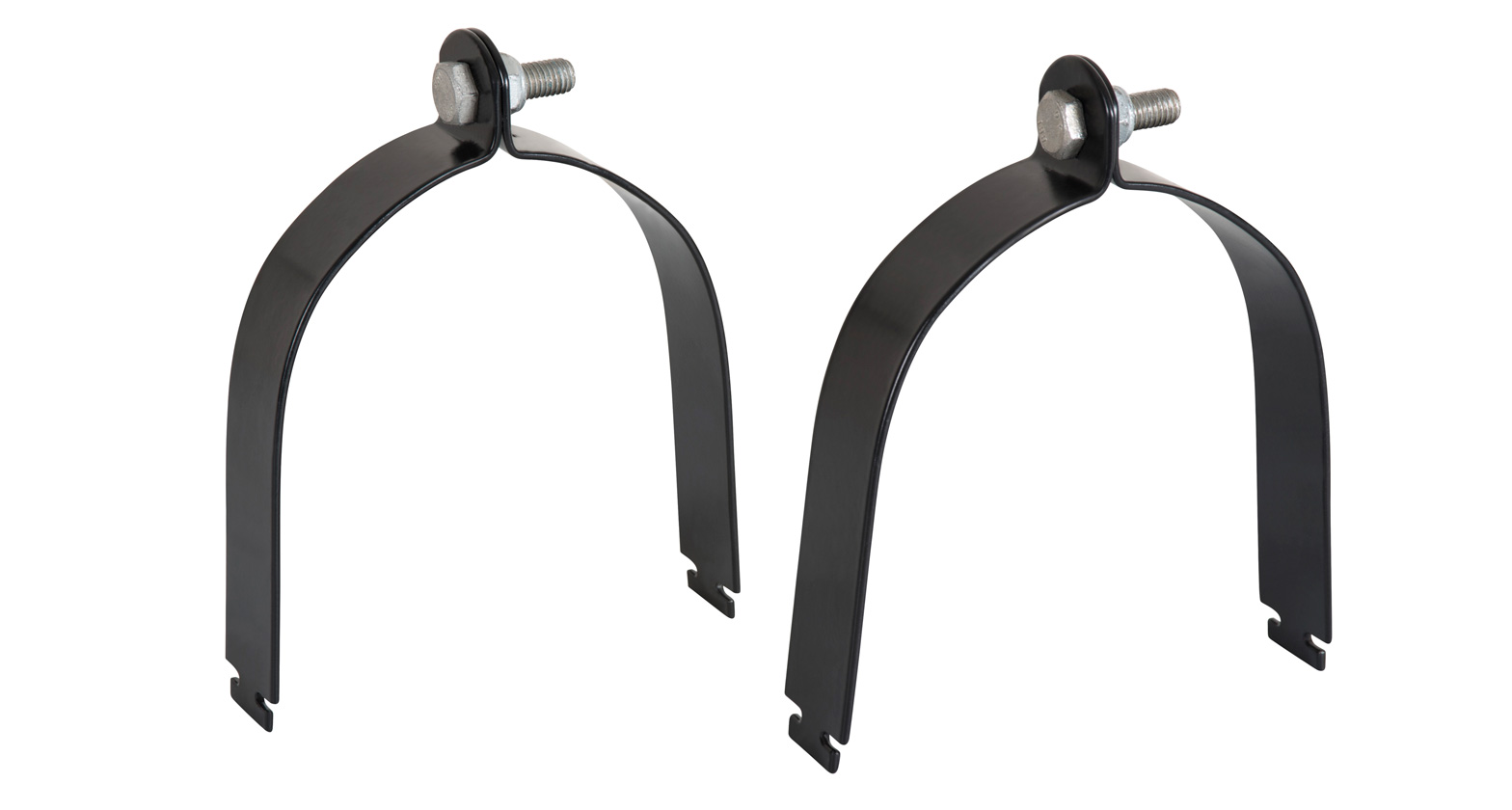 Vortex Pipe Clamps (100mm/4inches)