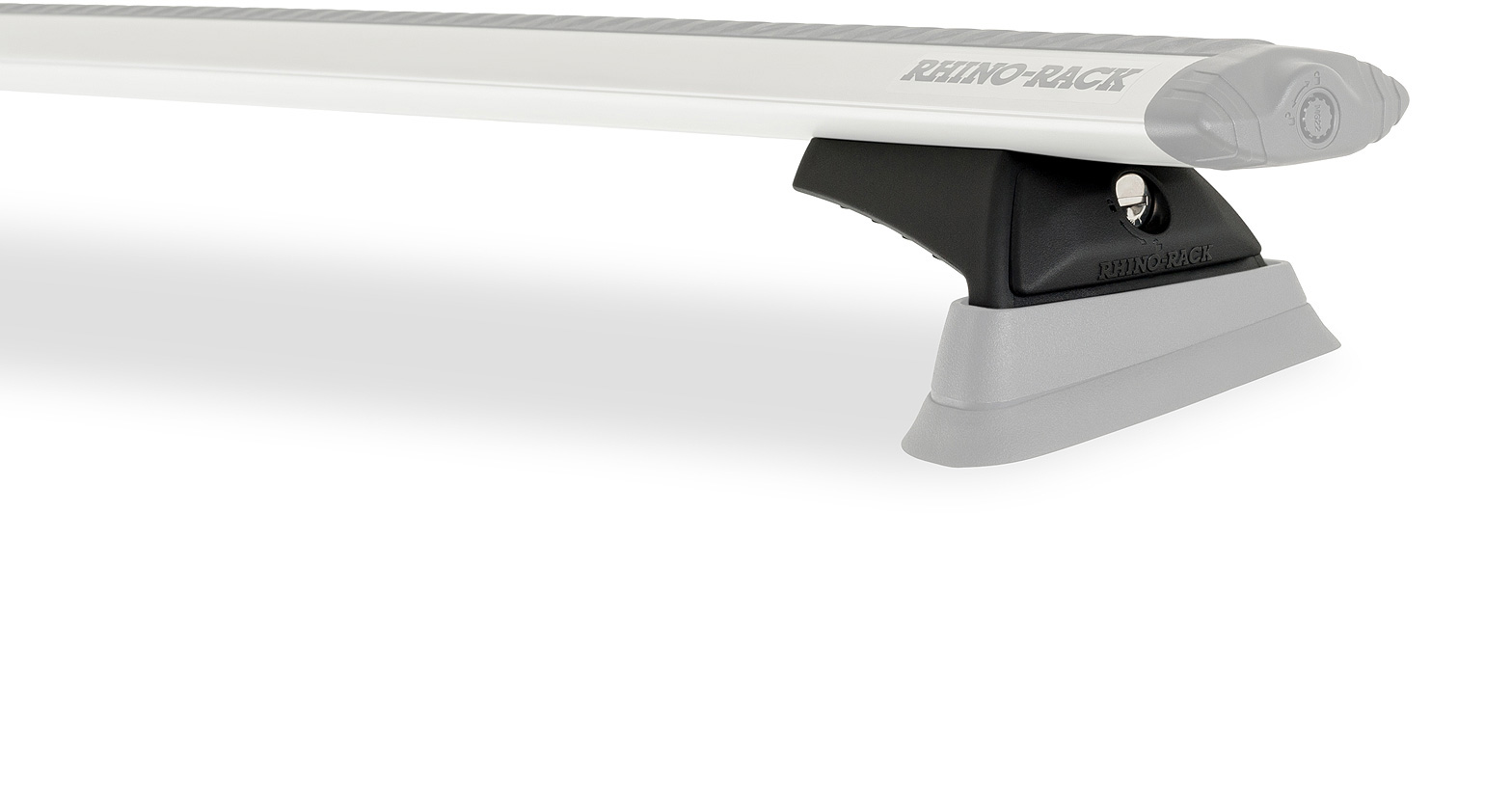 Rhino Rack Vortex RCL Black 2 Bar Roof Rack JA9319