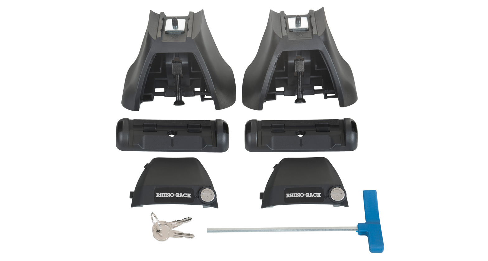Rhino Vortex Roof Rack for FOTON Tunland Dual Cab 1 Bar JA4028