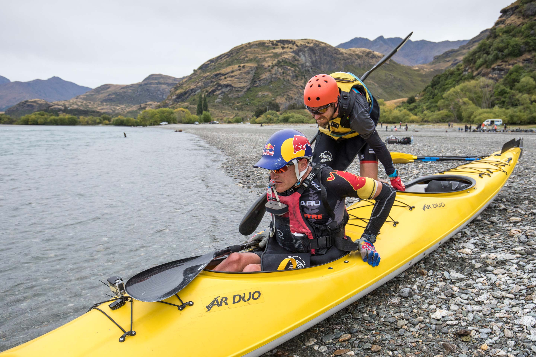 Kayaking Clutha River