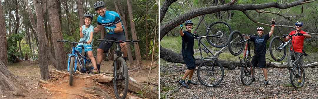 Mountain Biking with the boys